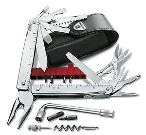 Victorinox Taschenmesser Swisstool CS Plus in Lederetui, One size, 3.0338.L  Kundenbewertung und Beschreibung