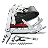 Victorinox SwissTool CS Plus in Lederetui, 38 Funktionen, silber, Edelstahlvon &#34;Victorinox&#34;