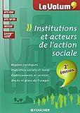 Institutions et acteurs de l'action sociale 2e édition - Le Volum' - Nº02