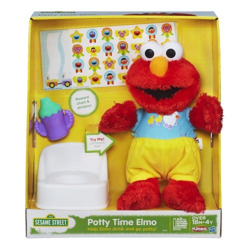 Sesame Street Playskool Potty Time Elmo Plush Toy by Sesame Street (Elmo Potty Reward Chart compare prices)
