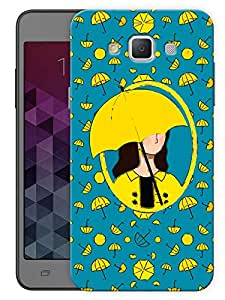 "Humor Gang How I Met Your Mother - Minimal Umbrella Printed Designer Mobile Back Cover For ""Samsung Galaxy E5"" (3D, Matte, Premium Quality Snap On Case)"