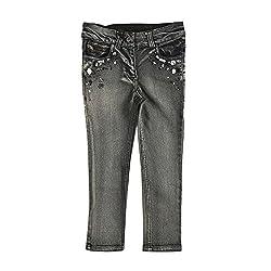 Lilliput Girls Jeans (8907264013208_Black_9-10 Years)