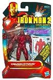 Iron Man 2 Comic Series Action Figure Crimson Dynamo