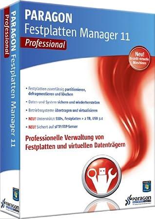 Paragon Festplatten Manager 11 Pro
