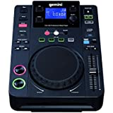Gemini CDJ-300 CD/MP3-Player (LCD-Display, 12,7 cm (5 Zoll) Touch-Sensitive Jog Wheel, 3 Mode: Scratch Effect/Cue Search/Pitch Ben)