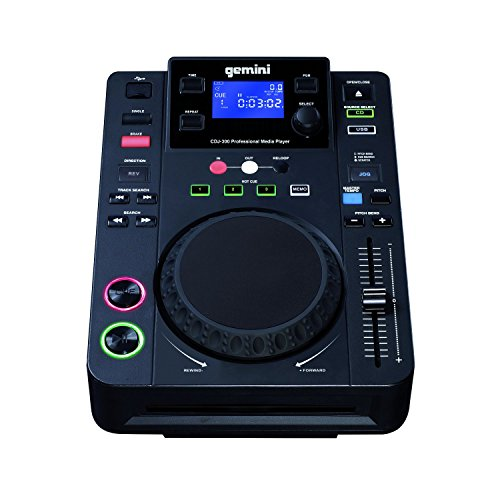 Lettore cd Gemini CDJ 300 CD Player, Nero