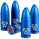 Strike Industries Aluminum Dummy Rounds-9mm - 5PK, Blue, One Size, SI-DR-AL-9mm-BLU