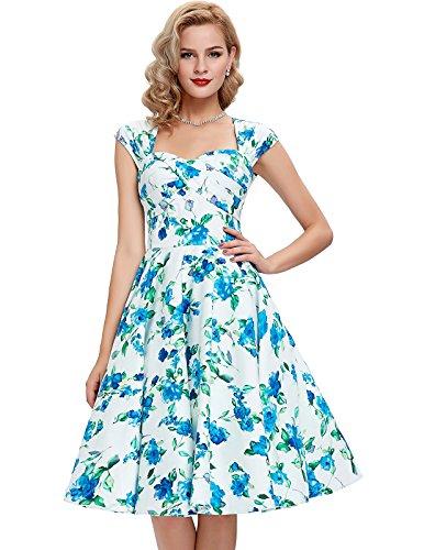 Sleeveless Vintage Dresses 1940