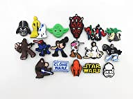 14 Star Wars & Clone Wars Shoe Charms…