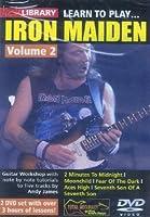 Méthode et pédagogie ROADROCK INTERNATIONAL DVD LICK LIBRARY LEARN TO PLAY IRON MAIDEN VOL.2 Guitare électrique
