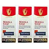 Mavala Stop Discourages Nail Biting and Thumb Sucking 0.3oz/10ml - Best Value 3 Pack!