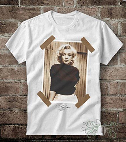 T-shirt uomo-marylin monroe