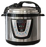 10-in-1 PressurePro Pressure Cooker - Multi-Use Programmable Pressure Cooker, Slow Cooker, Rice Cooker, Steamer, Sauté and Warmer