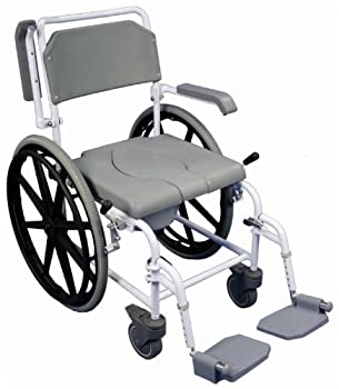 Aidapt Bewl Self Propelled Shower and Commode Chair by Aidapt