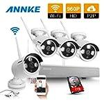 Annke 4CH 960P HD Wireless Security C...
