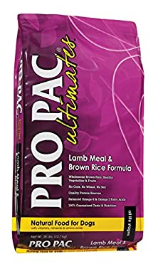 buy Midwestern Pet Foods Pro Pac Ultimates Lamb Meal And Brown Rice Natural Formula Dry Dog Food, 28-Pound Bag