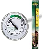 "REOTEMP FG20P Backyard Compost Thermometer - 20"" Stem, Fahrenheit"