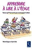 Apprendre à lire à l'école