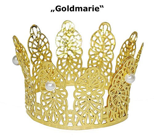prinzessin krone gold tolles accessoire f r karneval mottoparty geburtstag oder. Black Bedroom Furniture Sets. Home Design Ideas