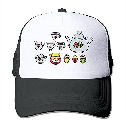 Design Mesh Hat High Tea Color Adjustable Durable Outdoor Sports Men&women