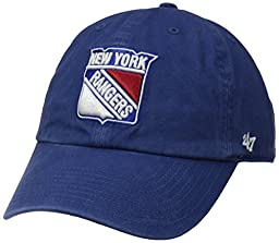 NHL New York Rangers \'47 Clean Up Adjustable Hat, Royal, One Size