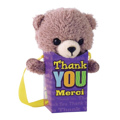 "Gund Pookie Pockets Thank You 4.25"" Plush"