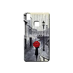 G-STAR Designer Printed Back case cover for VIVO V3 - G0300