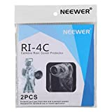 Neewer® 2 Pack Set Rain Cover Rainproof Camera Protector for Canon Nikon Sony Pentax Olympus and Other Digital SLR Camera and Lens up to 14