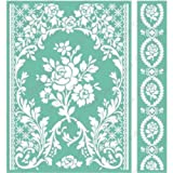 "Cuttlebug 5""X7"" Embossing Folder/Border Set-Anna Griffin Rose Pavilion"