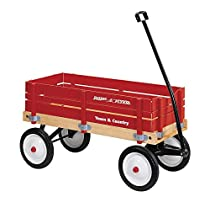 Radio Flyer Town & Country Wagon 36 In. X 16-1/2 In. X 9-1/2 In. Rubber