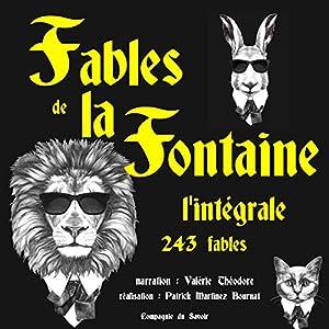 Fables de la Fontaine: l'intégrale - 243 fables | Livre audio
