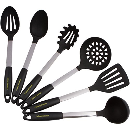 Restaurant Kitchen Utensils: Culinary Couture Stainless Steel And Silicone Cooking