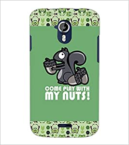 PrintDhaba Quote D-3081 Back Case Cover for MICROMAX A116 CANVAS HD (Multi-Coloured)