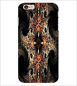 PrintDhaba Pattern D-1213 Back Case Cover for APPLE IPHONE 6 PLUS (Multi-Coloured)