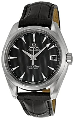 Omega Men's 231.13.39.21.06.001 Black Dial Seamaster Aqua Terra Watch