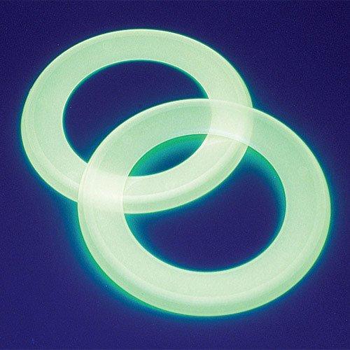 Glow in the Dark Loop Saucers - 1