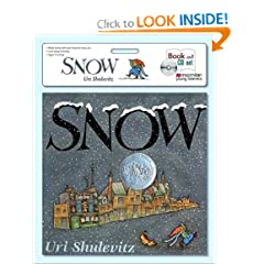 Snow book & CD set