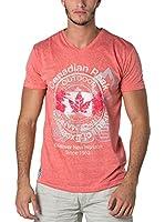 CANADIAN PEAK Camiseta Manga Corta Japple (Coral)