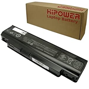Hipower Laptop Battery For Dell Inspiron 1120, 1121, M101Z, 11Z, P07T, P07T001, P07T002, 312-0251, 79N07, 2XRG7, 02XRG7, 079N07, KM965 Laptop Notebook Computers