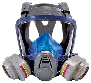 MSA Safety Works 10041139 Full Face Multi Purpose Respirator