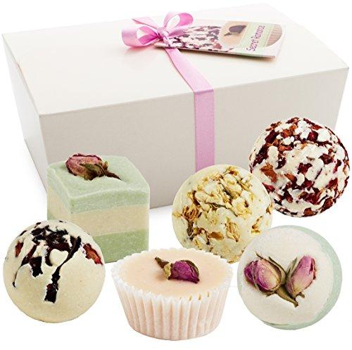 BRUBAKER-Cosmetics-Boules-de-bain-6-Pices-Coffret-cadeau-Secret-Romance-Vegan