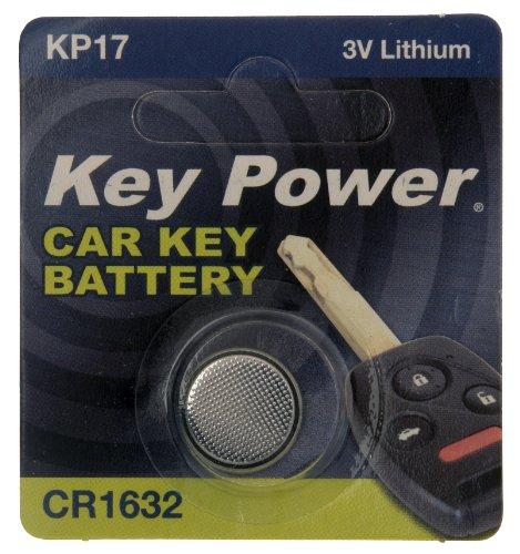 Key Power CR1632-KP Pile au lithium pour clé de voiture 3 V