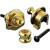 Schaller 14010501 Security Straplocks, Gold ~ Schaller