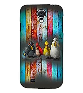 PrintDhaba Cartoons D-3987 Back Case Cover for SAMSUNG GALAXY S4 (Multi-Coloured)