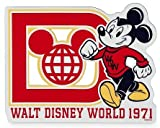 Disney Parks Auto Car Magnet - Mickey Mouse - Walt Disney World 1971