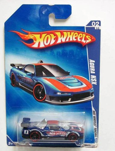 hot-wheels-2009-hw-racing-acura-nsx-02-10-blue-rare-by-mattel