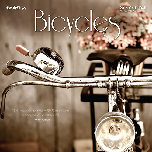 2016 Bicycles Wall Calendar (Details Us March 2015 compare prices)