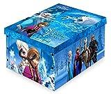 Childrens Disney Frozen Storage Toy Storage Box 40x50x25cm