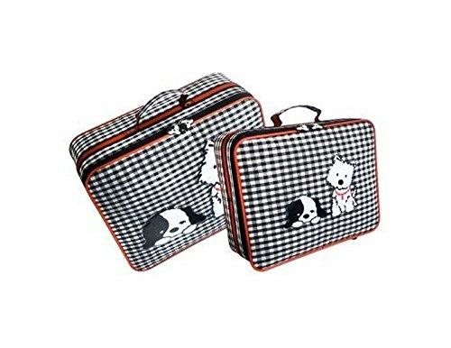 2-tlg-Kinderkoffer-Set-mit-Hundemotiv