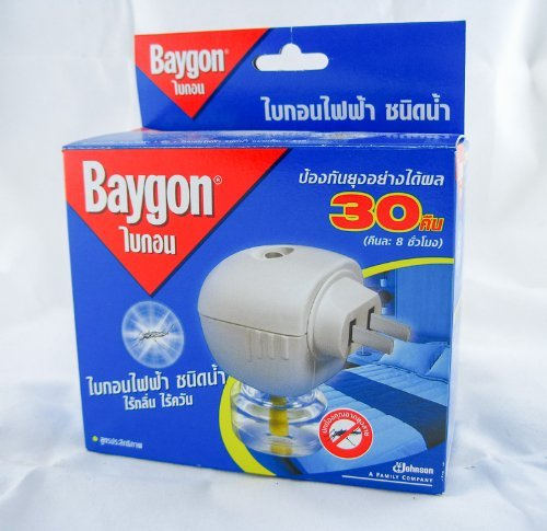 """Thai Happy"" Baygon Liquid Electric Mosquito Repeller 30 Days 0.77 Oz."